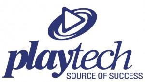 Het logo van Playtech
